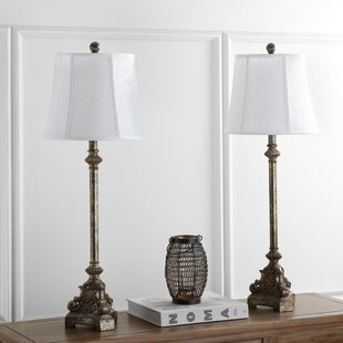 Best Rimini Console 33.5 Table Lamp (Set of 2) By Safavieh