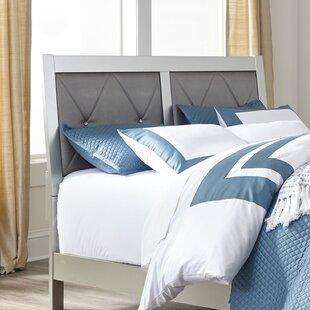 Upham Upholstered Panel Bed by Rosdorf Park