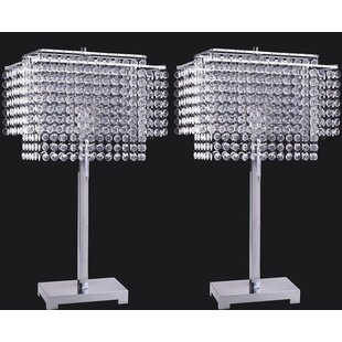 Ousseini Crystal Strings 28 Table Lamp (Set of 2)
