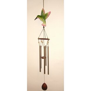 Hummingbird Large Top Poly Wind Chime by Great World Company