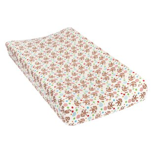 Buy clear Tremblay Monkeys Deluxe Flannel Changing Pad Cover ByHarriet Bee