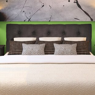 Jackie Queen Upholstered Panel Headboard by Sole Designs
