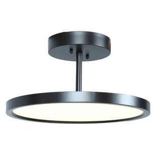 Cornet LED Outdoor Semi Flush Mount