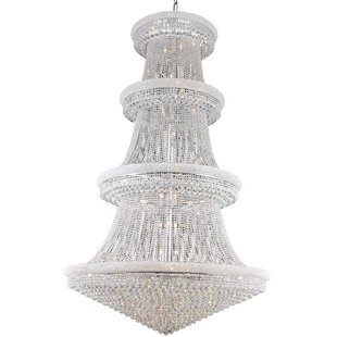 Willa Arlo Interiors Jessenia 56-Light Crystal Chandelier