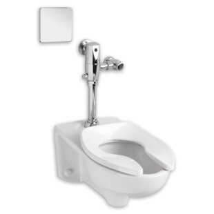 American Standard Afwall Dual Flush Elongated One-Piece Toilet