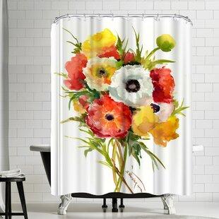 Suren Nersisyan Buttercups Single Shower Curtain