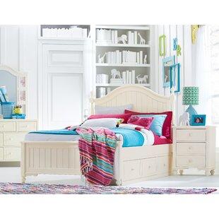 Summerset Low Poster Slat Storage Configurable Bedroom Set by LC Kids