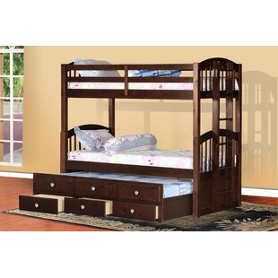 Bernard Twin Bunk Bed with Drawers