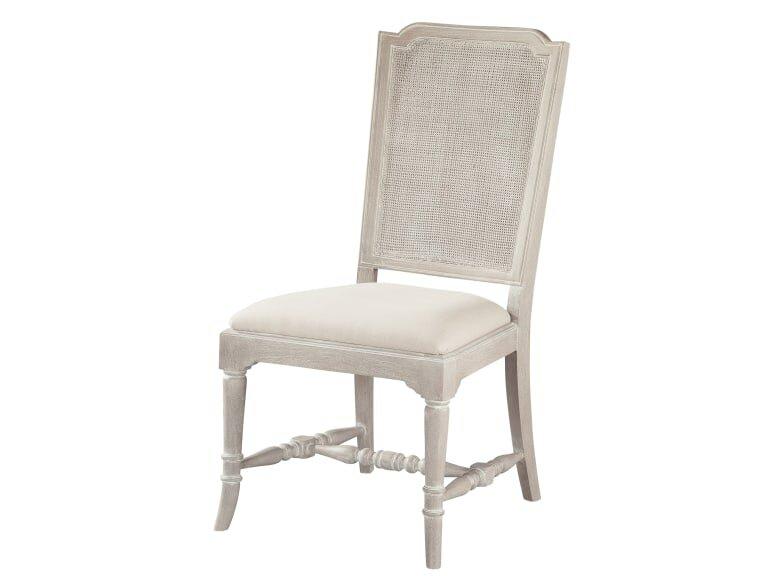 Sutton's Bay Cane Upholstered Dining Chair