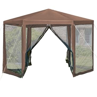 Avia 3.5m X 2.5cm Steel Pop Up Gazebo By Sol 72 Outdoor