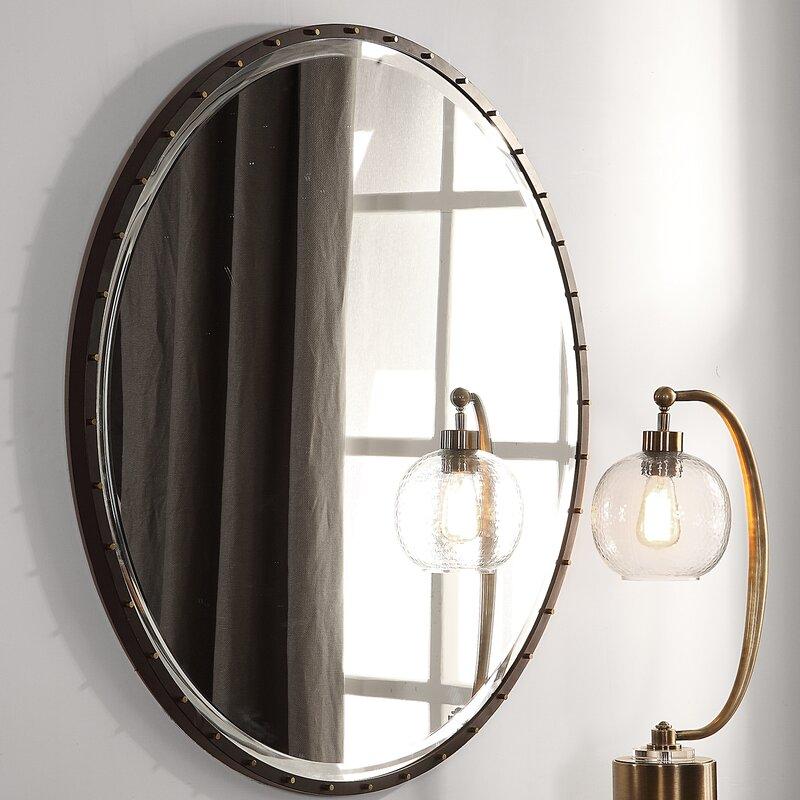 Stansfield Round Accent Mirror
