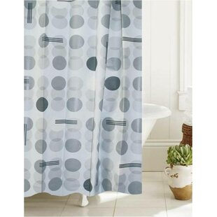 Viqueque Bath Atomic Bond Single Shower Curtain