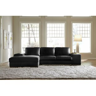 Lazzaro Leather Sussex Leather Sectional