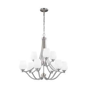 Darby Home Co Eyers 9-Light Shaded Chandelier