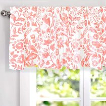 Pink Valances Kitchen Curtains You Ll Love In 2021 Wayfair