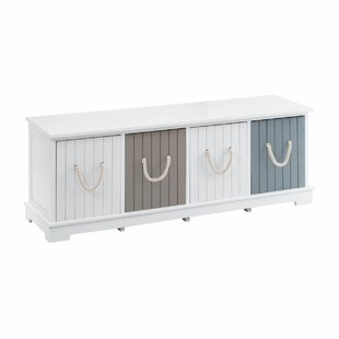 Leiscester Storage Bench By Breakwater Bay