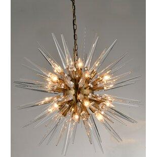 Lundeen 20-Light Sputnik Chandelier by Mercer41