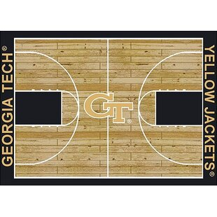 Shopping for NCAA College Home Court Georgia Tech Novelty Rug ByMy Team by Milliken