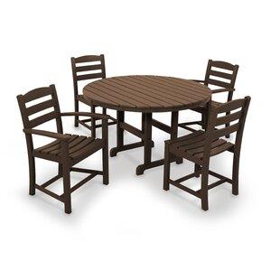 La Casa Caf? 5-Piece Dining Set by POLYWOOD?