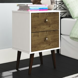 George Oliver Lewis 2 Drawer Nightstand