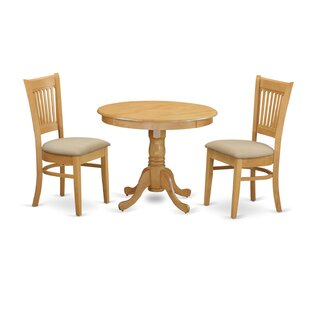 3 Piece Dining Set by Wooden Importers #2
