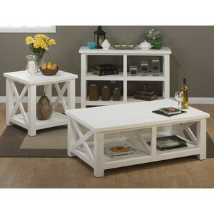 Sanderling 3 Piece Coffee Table Set