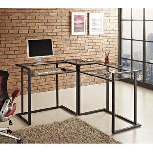 Mercury Row Computer L-Shape Computer Desk