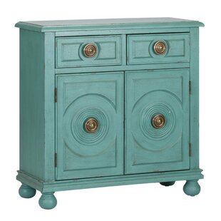 Rayna 2 Drawer 2 Door Accent Cabinet by Bungalow Rose