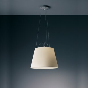 Artemide Tolomeo Mega Suspension 1-Light Drum Pendant