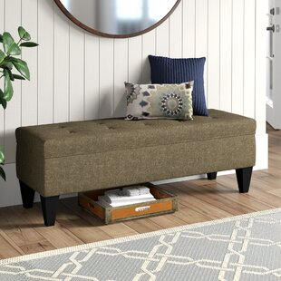 Potrero Two Seat Bench with Storage by Alcott Hill