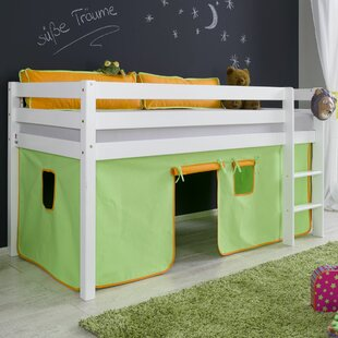 Giordano Single Mid Sleeper Bed With Curtain By Zoomie Kids