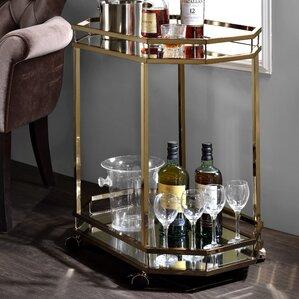 Deschenes Bar Cart by Mercury Row