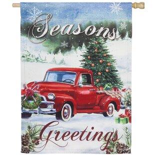 Christmas Evergreen Flag Garden Flags You Ll Love In 2021 Wayfair