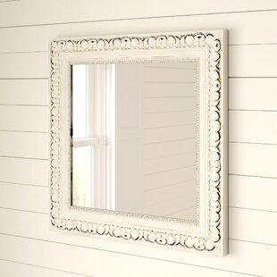 Debbie Traditional Square Bathroom  Vanity Mirror by Mistana