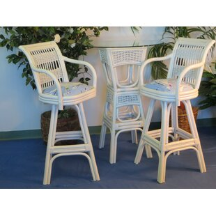 Spice Islands Wicker Regatta Pub Table Set