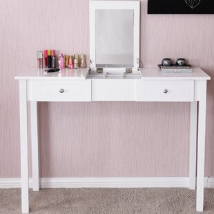 Kaila Vanity with Mirror by Charlton Home