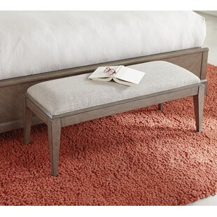 Whicker Upholstered Bench