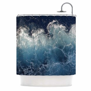 Sea Spray by Suzanne Carter Ocean Single Shower Curtain