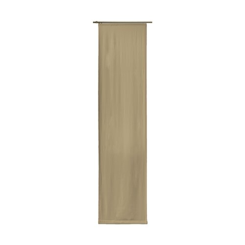 Torquay Blackout Thermal Single Panel Curtain Ebern Designs Colour: Taupe, Size: 175cm H x 60cm W