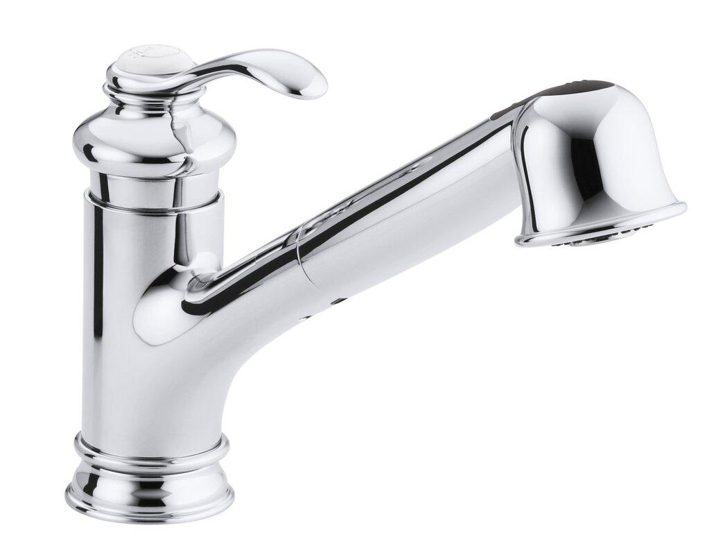 Kohler Fairfax Single-Hole or Three-Hole Kitchen Sink Faucet with ...