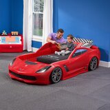 Corvette Car Toddler Bed by Step2