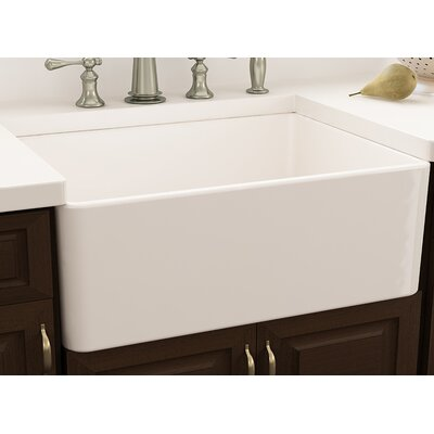 Cape 30 L X 18 W Farmhouse Kitchen Sink With Drain Embly And