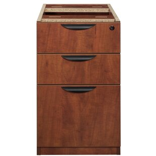 Linh Box File Pedestal 3-Drawer Vertical Filing Cabinet