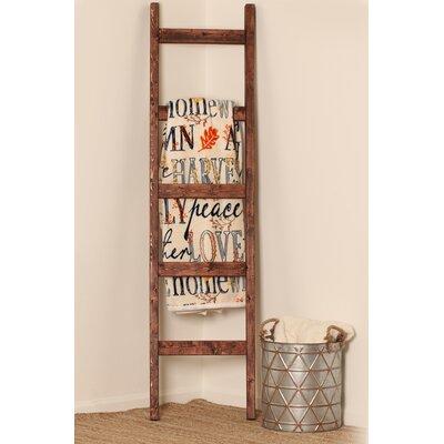 BrandtWorksLLC 6 ft Blanket Ladder Color: Red Mahogany