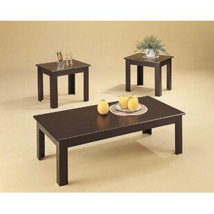 Charlton Home Lambeth 3 Piece Coffee Table Set