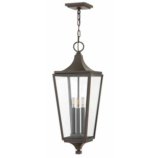 Best Reviews Jaymes 1-Light Outdoor Hanging Lantern By Hinkley Lighting