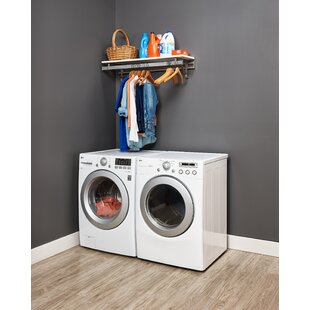 Laundry Room Shelf With Hooks Wayfair