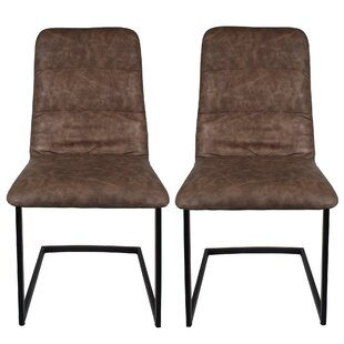 Stivers Upholstered Dining Chair (Set Of 2) By Ebern Designs