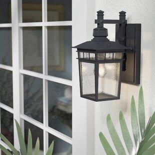 Valeri 1-Light Outdoor Wall Lantern by Beachcrest Home
