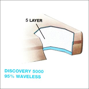 Discovery 5000 9 Waterbed Mattress by Vinyl Products